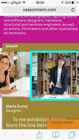 Mobile: People – Marta
