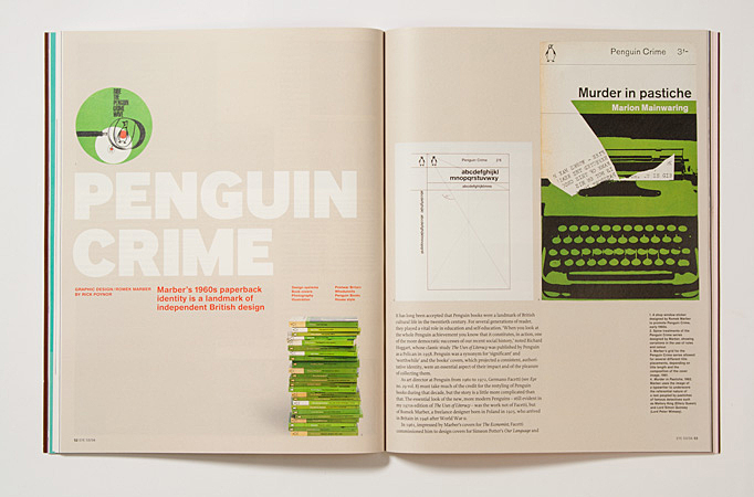 Issue 53: Marber's Penguin Crime identity