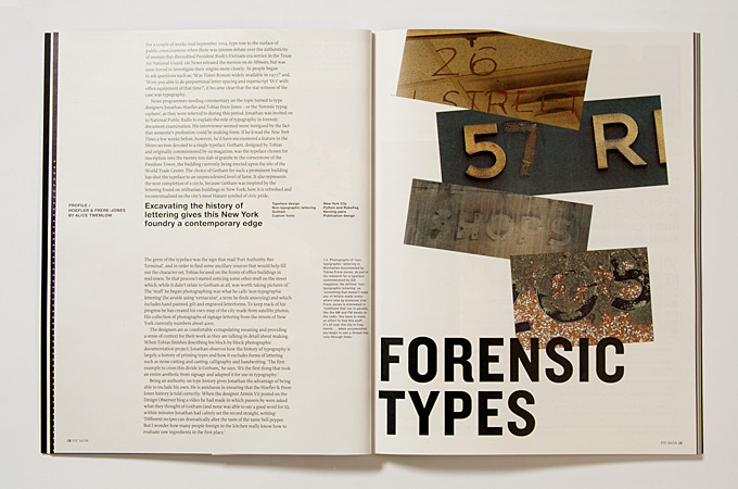 Issue 54: profile of Hoefler & Frere-Jones