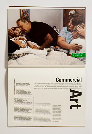 Issue 29: profile on Oliviero Toscani at Benetton by 4 writers